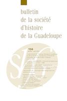 Aperçu de la couverture de « Bulletin de la Société d'Histoire de la Guadeloupe »