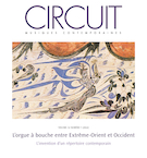 "Cover preview of ""Circuit : musique contemporaine"""