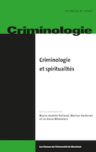 "Cover preview of ""Criminologie"""