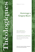 "Cover preview of ""Théologiques"""