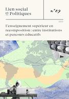 """Cover preview of """"Lien social et Politiques"""""""