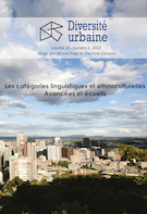 "Cover preview of ""Diversité urbaine"""