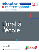 "Cover preview of ""Éducation et francophonie"""