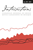 "Cover preview of ""Intersections: Canadian Journal of Music / Intersections : revue  canadienne de musique"""