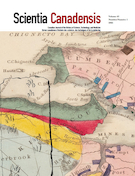 "Cover preview of ""Scientia Canadensis: Canadian Journal of the History of Science, Technology and Medicine"""