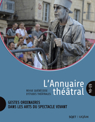 """Cover preview of """"L'Annuaire théâtral"""""""