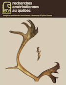"""Cover preview of """"Recherches amérindiennes au Québec"""""""
