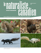 "Cover preview of ""Le Naturaliste canadien"""