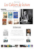 "Cover preview of ""Les cahiers de lecture de l'action nationale"""