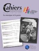"""Cover preview of """"Les Cahiers de la Société québécoise de recherche en musique"""""""