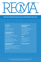 "Cover preview of ""Revue internationale de l'économie sociale : Recma"""