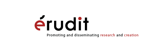 Érudit - Promoting and disseminating research