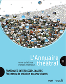 Cover forthe thematic issuePratiques interdisciplinaires