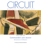 Cover of Commander une oeuvre, Volume 26, Number 2, 2016, pp. 5-95, Circuit