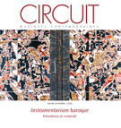 Cover of <em>Instrumentarium</em> baroque, Volume 28, Number 2, 2018, pp. 5-116, Circuit