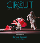 Cover for issue 'Barbara Hannigan' of the journal 'Circuit'