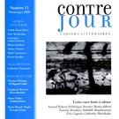 Cover forthe thematic issueÉcrire entre bruit et silence