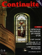 Cover of L'héritage religieux, Number 25, Fall 1984, pp. 4-50, Continuité