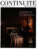 Cover of Gastronomie et patrimoine, Number 52, Winter 1992, pp. 4-58, Continuité