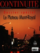 Cover of Le Plateau Mont-Royal, Number 66, Fall 1995, pp. 4-57, Continuité