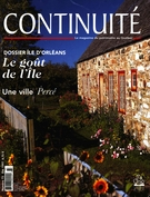 Cover of Île d'Orléans, Number 73, Summer 1997, pp. 3-66, Continuité