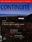 Cover of Tourisme et culture, Number 81, Summer 1999, pp. 3-66, Continuité