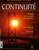 Cover of Les ponts, Number 95, Winter 2002–2003, pp. 3-58, Continuité