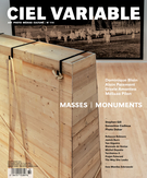 Cover of Masses | Monuments, Number 114, Winter 2020, pp. 5-106, Ciel variable