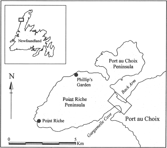 Location of Point Riche