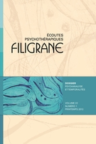 Cover of Psychanalyse et temporalités,        Volume 22, Number 1, Spring 2013, pp. 7-141 Filigrane