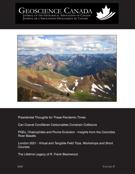 Cover for issue 'Volume 47, Number 4, 2020' of the journal 'Geoscience Canada'