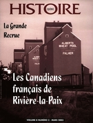 Cover of Volume 8, Number 3, March 2003, pp. 2-43, Histoire Québec