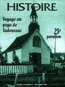 Cover of Volume 10, Number 2, 2004, pp. 2-42, Histoire Québec