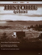 Cover of Volume 13, Number 3, 2008, pp. 3-50, Histoire Québec