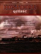 Cover of Volume 15, Number 2, 2009, pp. 4-46, Histoire Québec