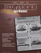 Cover of Volume 16, Number 2, 2010, pp. 4-49, Histoire Québec