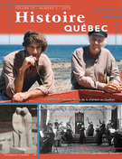 Cover of Volume 20, Number 3, 2015, pp. 4-53, Histoire Québec