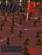 Cover of La parade culturelle, Number 25, Fall 1984, pp. 2-60, Inter