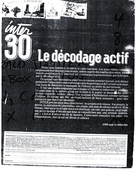 Cover of Number 30, Winter 1986, pp. 2-63, Inter