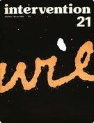 Cover of Survi survie, Number 21, Winter 1983, pp. 4-63, Intervention