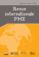 Cover of Volume 31, Number 1, 2018, pp. 7-198, Revue internationale P.M.E.