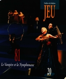 Cover of        Number 81, 1996, pp. 5-214 Jeu