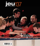 Cover of Impro,        Number 137 (4), 2010, pp. 5-175 Jeu