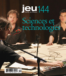 Cover of Sciences et technologies, Number 144 (3), 2012, pp. 4-176, Jeu