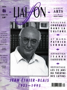 Cover of Number 86, March 1996, pp. 5-33, Liaison