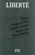 Cover of        Volume 32, Number 4 (190), August 1990, pp. 3-126 Liberté