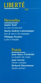 Cover of Volume 38, Number 2 (224), April 1996, pp. 4-92, Liberté