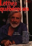 Cover of        Number 36, Winter 1984–1985, pp. 5-96 Lettres québécoises