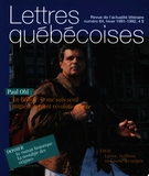 Cover of Number 64, Winter 1991–1992, pp. 3-56, Lettres québécoises