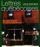 Cover of Number 67, Fall 1992, pp. 3-56, Lettres québécoises